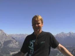Jøran fra Banff i Canada