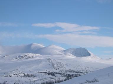 Rondane  vinteren 2005